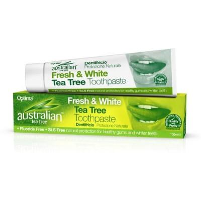Australian Dentrifico Arbol del Te Optima Health & Nutrition evi 31204 Dentrificos , Pasta de Dientes salud.bio