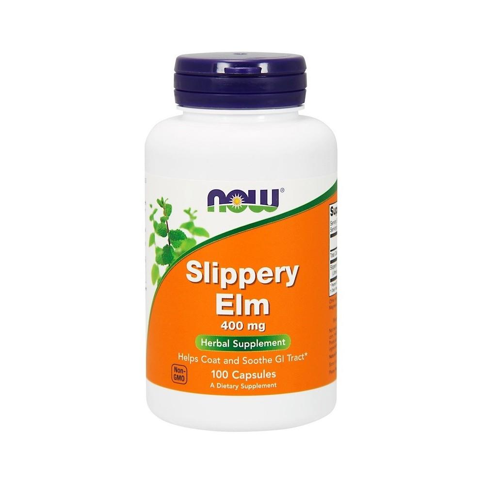 Olmo, 400 mg, 100 cápsulas de Now Foods now suplementos NOW-04750 Ayudas aparato Digestivo salud.bio
