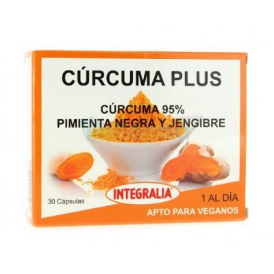 Curcuma Plus de Integralia INTEGRALIA 504 Suplementos Naturales acción Analgesica, Antiinflamatoria, malestar, dolor salud.bio