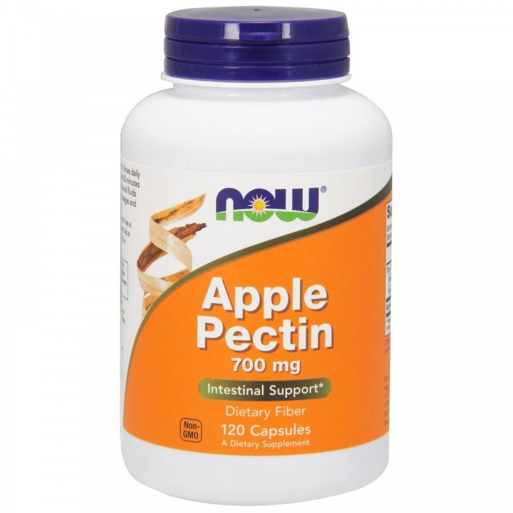 Pectina de Manzana, 700 mg, 120 cápsulas de Now Foods now suplementos NOW-06425 Ayudas aparato Digestivo salud.bio