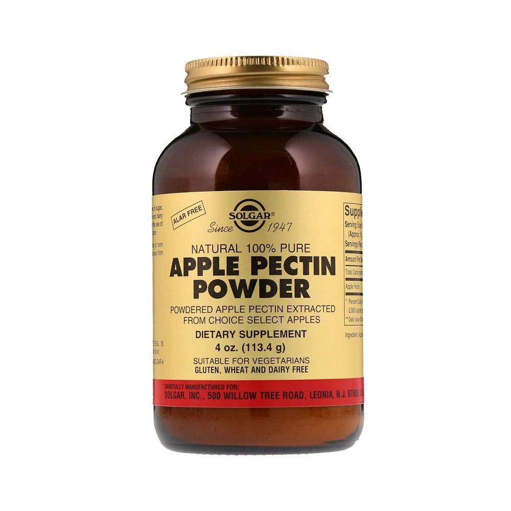 Pectina de Manzana en Polvo, 4 oz (113.4 g) de Solgar SOLGAR SOL-00120 Ayudas aparato Digestivo salud.bio