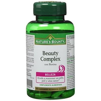 Beauty Complex con Biotina 60 Comprimidos Nature´s Bounty NATURE´S BOUNTY 03598 Inicio salud.bio