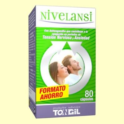 Nivelansi 80 cápsulas de Tongil Tongil (Estado Puro) H28 Estados emocionales, ansiedad, estrés, depresión, relax salud.bio