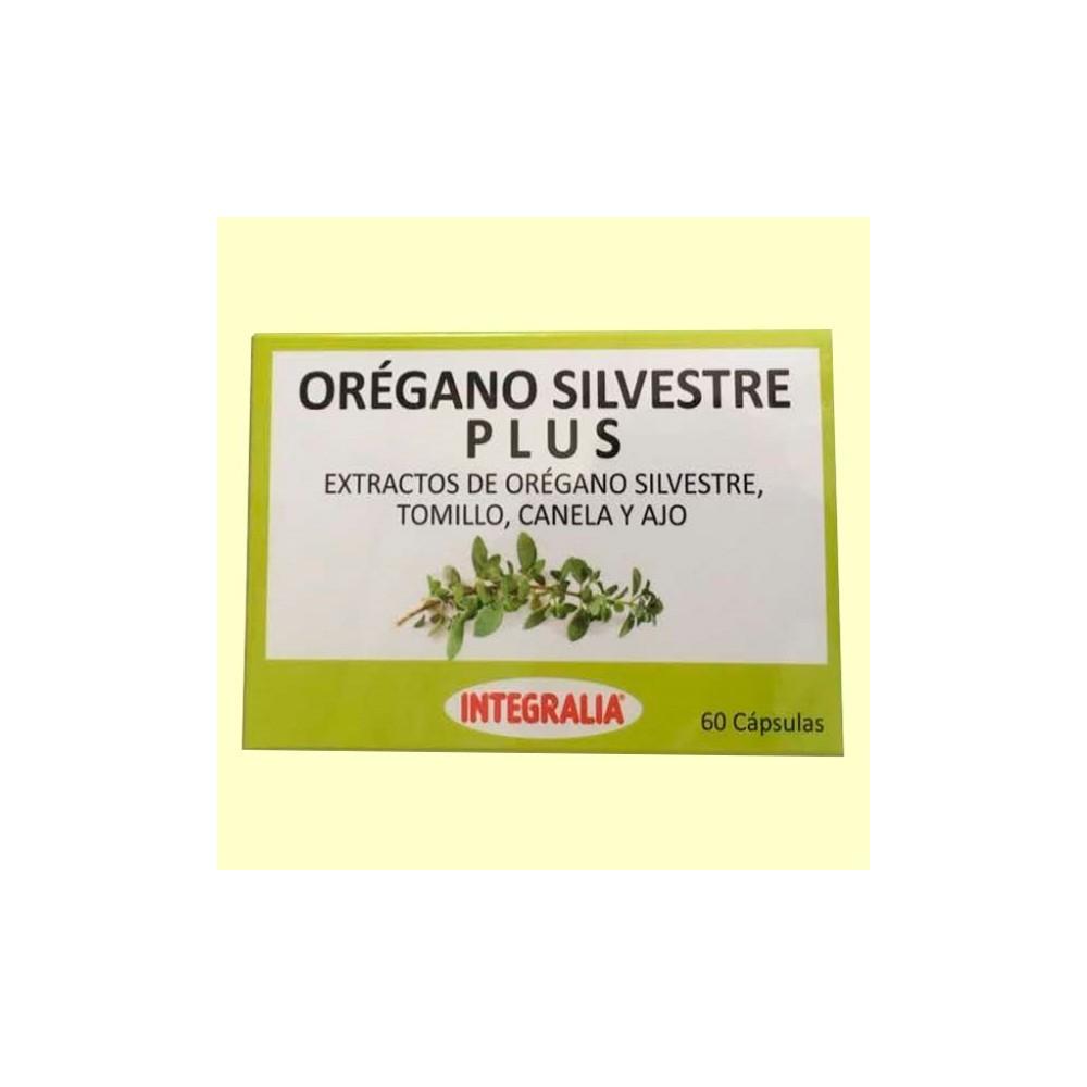 Orégano Silvestre Plus de Integralia 60 cápsulas INTEGRALIA 543 Ayudas aparato Digestivo salud.bio
