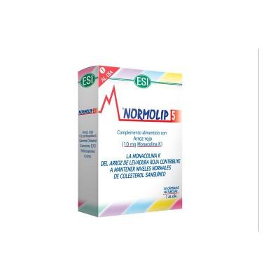 NORMOLIP 5 de ESI ESI LABORATORIOS 03010701 Ayudas niveles Colesterol y Trigliceridos salud.bio