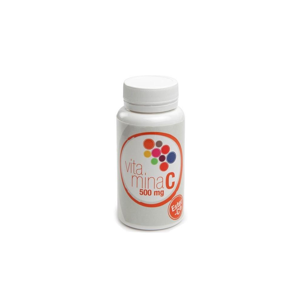 VITAMINA C (Ester-C®) 500mg 60 Capsulas de Plantis