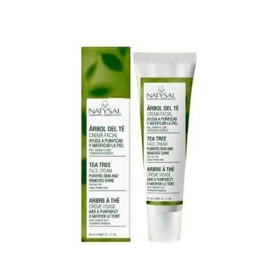 Crema Facial Arbol del Té Tea Tree de Natysal 50ml