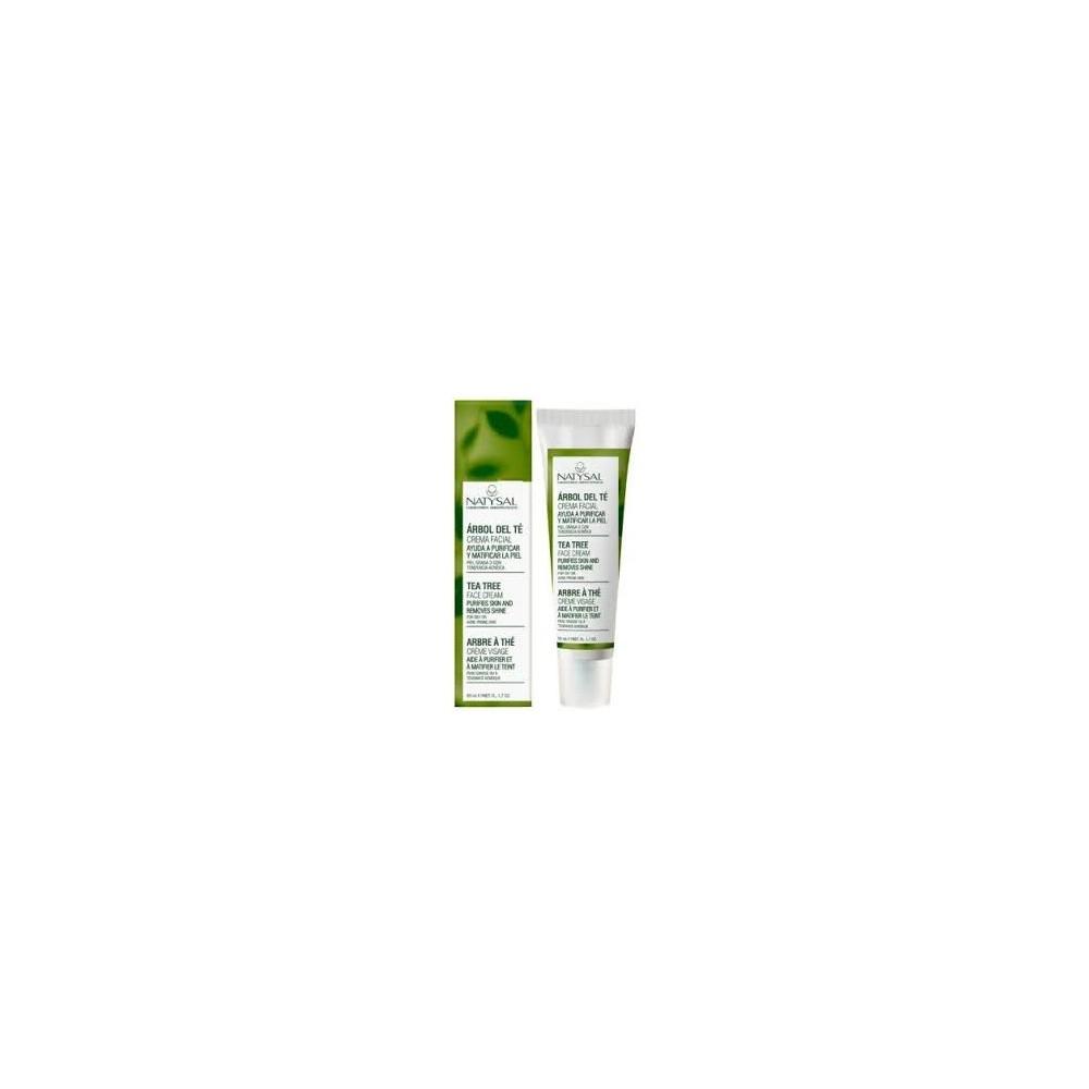 Crema Facial Arbol del Té Tea Tree de Natysal 50ml