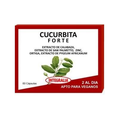 Cucurbita Forte de Integralia INTEGRALIA 507 Bienestar urinario. Ayuda en el bienestar urinario. salud.bio