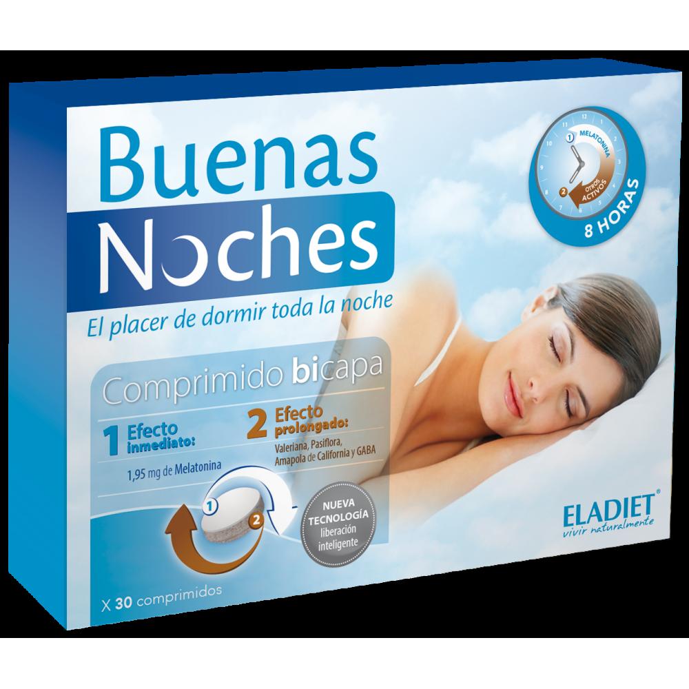 Buenas Noches 30 Comp de Eladiet ELADIET Elaborados Dieteticos, s.a. 8420101215714 insomnio y descanso salud.bio