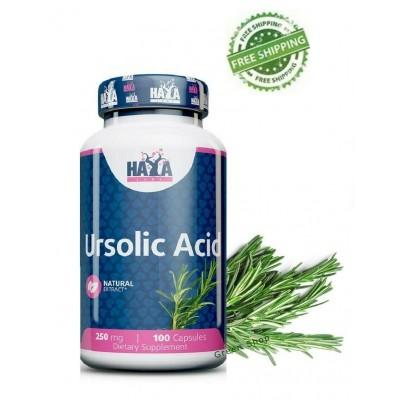 Acido Ursolico 250mg. 100 Cápsulas de Haya Haya Labs LLC 853809007288 Gainers: Los Mejores Suplementos Para Ganar Masa Muscul...