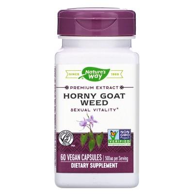 Semilla de Horny Goat, Estandarizado, 60 Cápsulas de Nature's Way Nature`s Way NWY-15311 Inicio salud.bio
