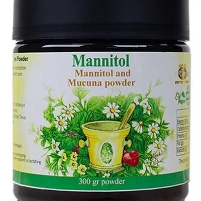 Mannitol and Mucuna en polvo, 300g de Homeotreat lab Homeotreat Lab Ltd 7290016729467 Ayuda Funcion Celebral salud.bio