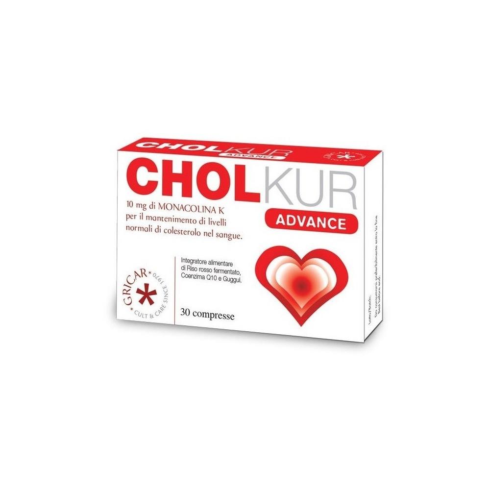 CHOLKUR ADVANCE (30 Comprimidos) CRICAR  Inicio salud.bio