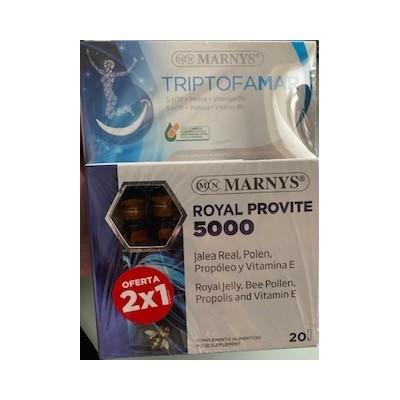 Pack Royal Provite 5000 + Triptomar de Marnys Marnys PACKMNV Complementos Alimenticios (Suplementos nutricionales) salud.bio