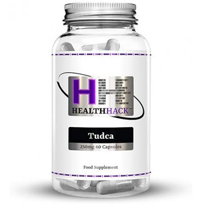 Tudca 250mg, acido tauroursodesossicolico, de Healt Hack  5060723190711 Higado y sistema hepatobiliar salud.bio