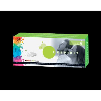Respirit 20 viales de Novadiet Novadiet 60211 Acción benéfica garganta y pecho salud.bio