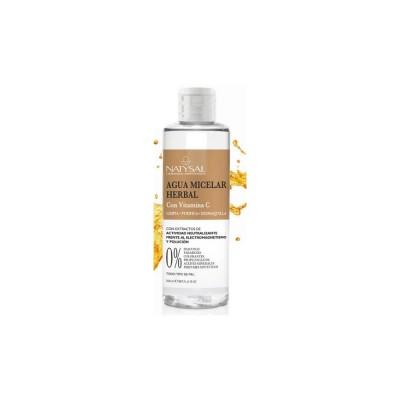 Agua micelar con Vitamica C de Natysal Natysal 13491 Inicio salud.bio