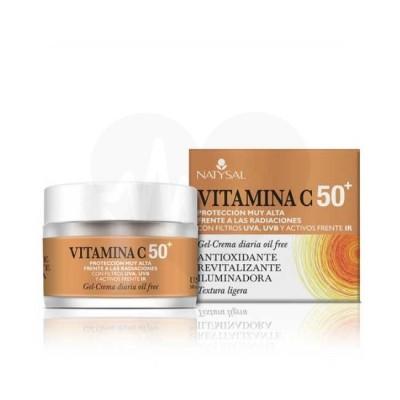 Crema de Vitamina C de Natysal Natysal 8436020324789 Cosmética Natural salud.bio