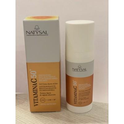 Crema de Vitamina C con dosificador de Natysal Natysal 13607 Cosmética Natural salud.bio