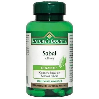 Sabal 450 mg. (100 Cápsulas) de Nature's Bounty NATURE´S BOUNTY 03548 Inicio salud.bio