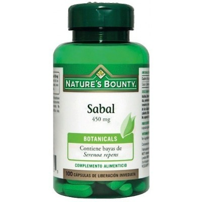 Sabal 450 mg. de Nature´s Bounty (100 Cápsulas) NATURE´S BOUNTY 03548 Inicio salud.bio