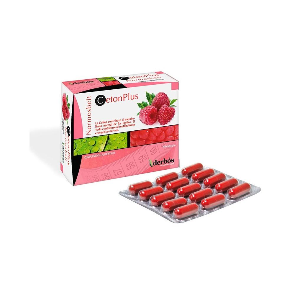 CetonPlus 45 cápsulas de derbos derbós laboratorio natural 161 Control de Peso salud.bio