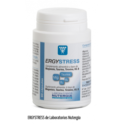 ERGYSTRESS de Nutergia Nutergia ErgyStress Estados emocionales, ansiedad, estrés, depresión, relax salud.bio