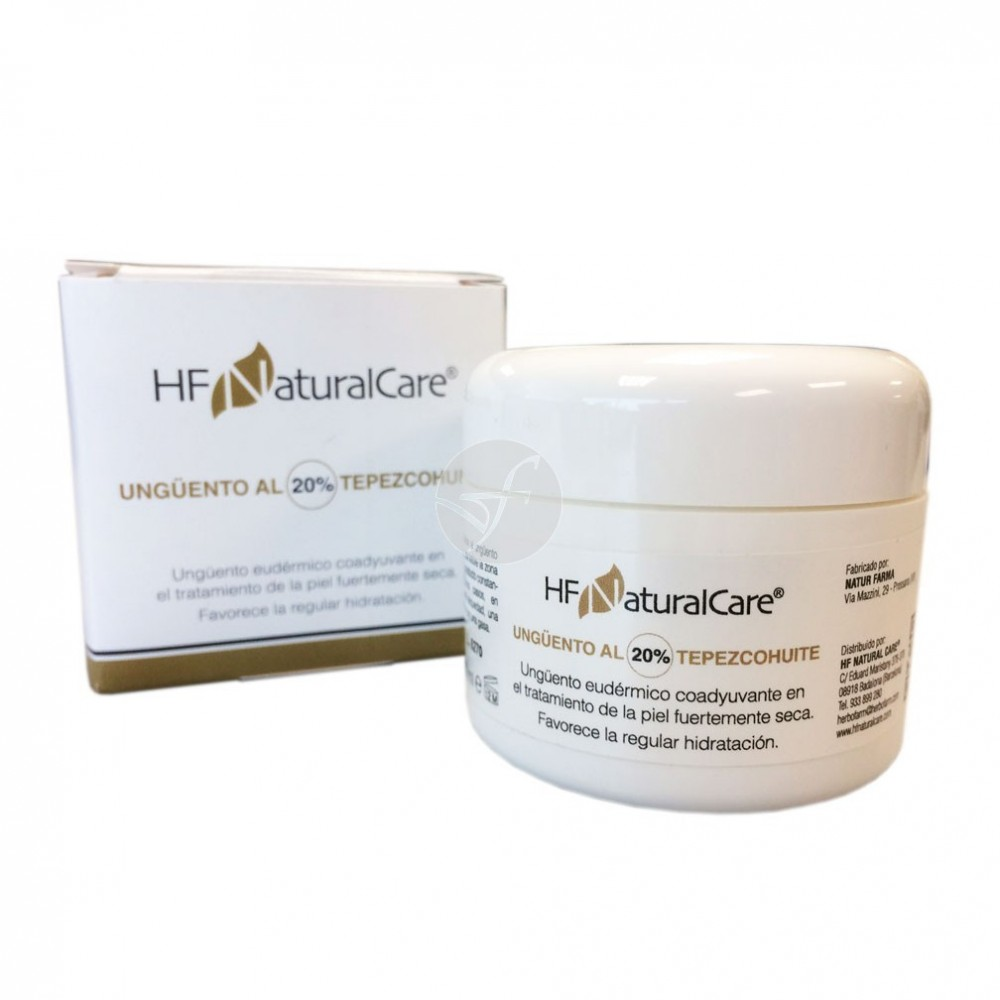 Ungüento al 20% Tepezcohuite 50ml de HF NaturalCare Herbofarm HN N200 Inicio salud.bio