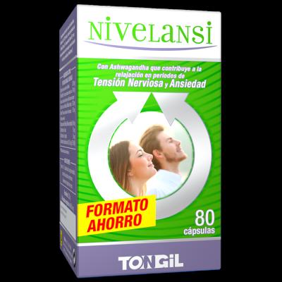 Nivelansi 40 cápsulas de Tongil Tongil (Estado Puro) H20 Estados emocionales, ansiedad, estrés, depresión, relax salud.bio
