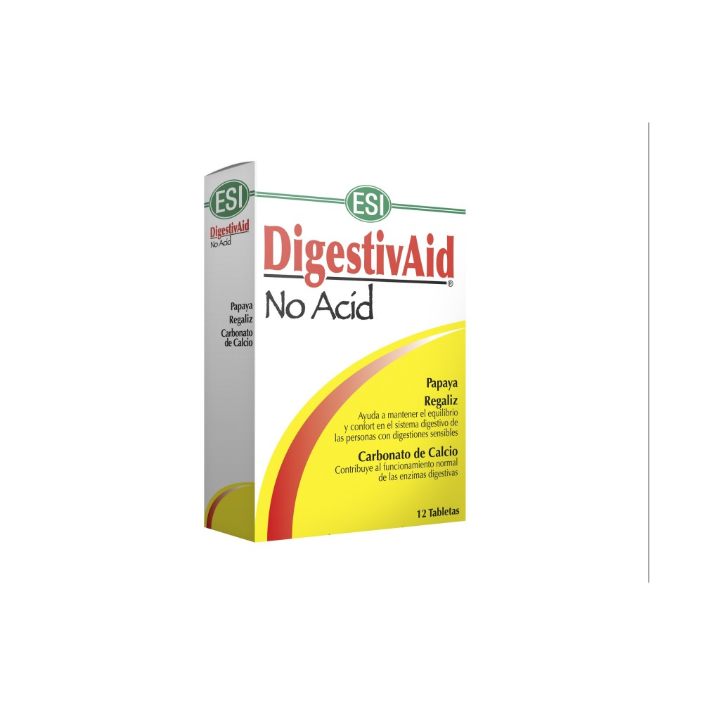 Digestivaid NO ACID de ESI ESI LABORATORIOS  Ayudas aparato Digestivo salud.bio