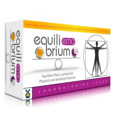 Equilibrium Emo de Laboratorios Tegor Tegor 8429007052928 Estados emocionales, ansiedad, estrés, depresión, relax salud.bio