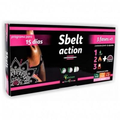 Sbelt Action plan 15 días 3 Fases de Pinisan Pinisan 108.00056 Quemagrasas y similares salud.bio