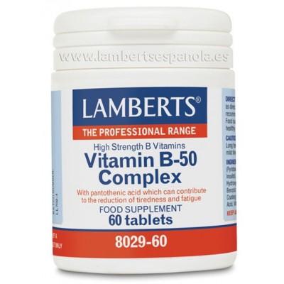 Complejo Vitamina B-50 Complex Lambert Profesional Lamberts Española S.L. 8029-60 Vitamina B salud.bio
