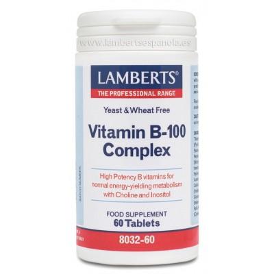 Complejo Vitamina B-100 Complex Lambert Profesional Lamberts Española S.L. 8032-60 Vitamina B salud.bio
