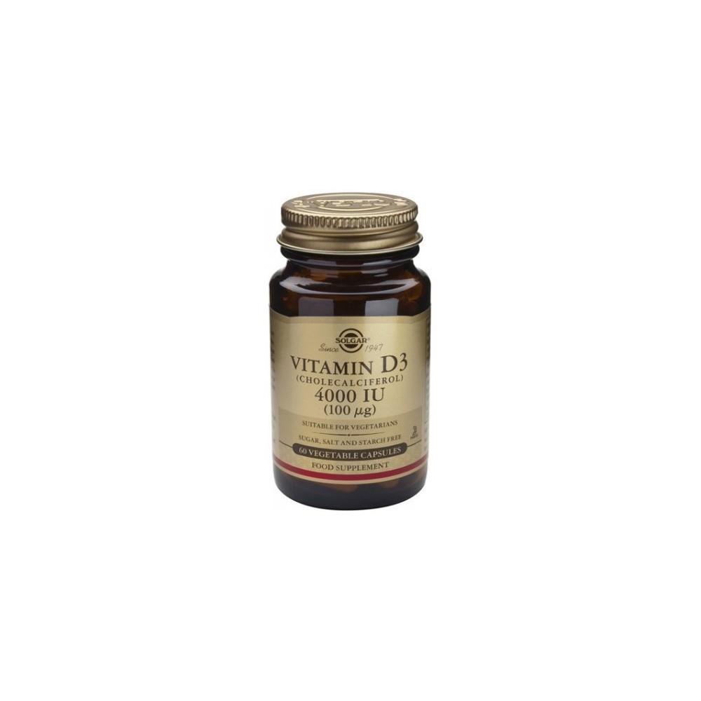 Vitamina D3 4000UI  60 cápsulas