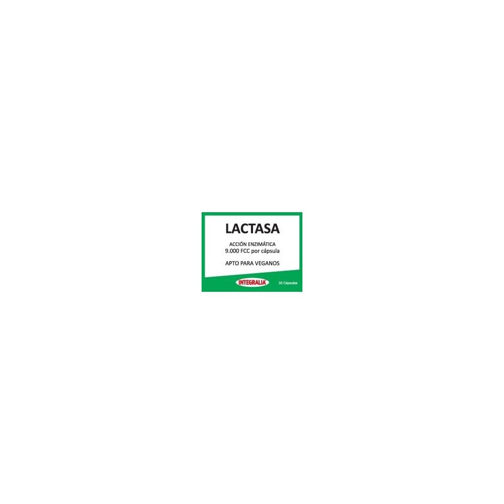Lactasa Acción enzimatica 9000 FCC de Integralia INTEGRALIA 8436000545708 Ayudas aparato Digestivo salud.bio
