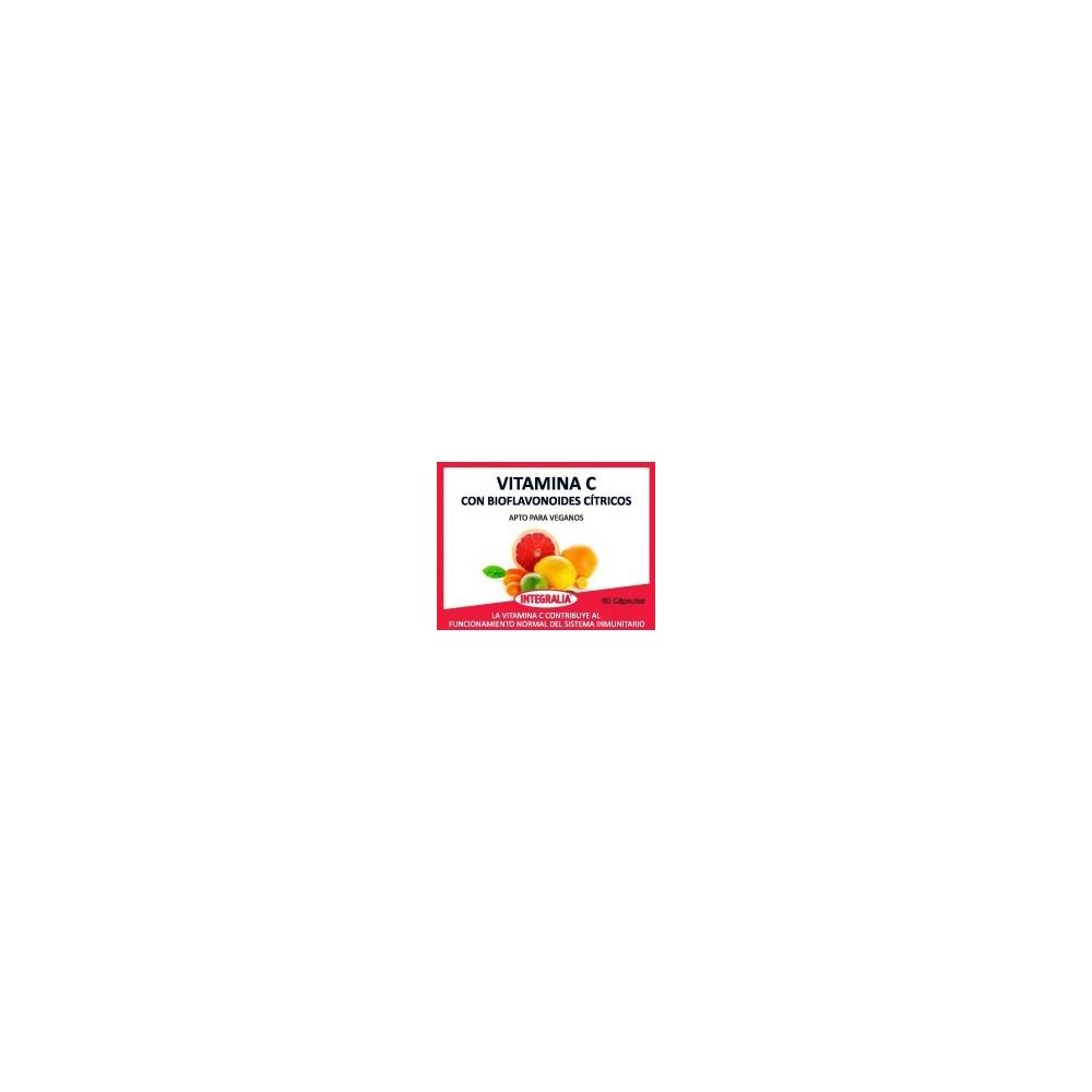 Vitamina C con bioflavonoides 60 cap de Integralia Artesania Agricola, S.A. 549 Vitamina C salud.bio