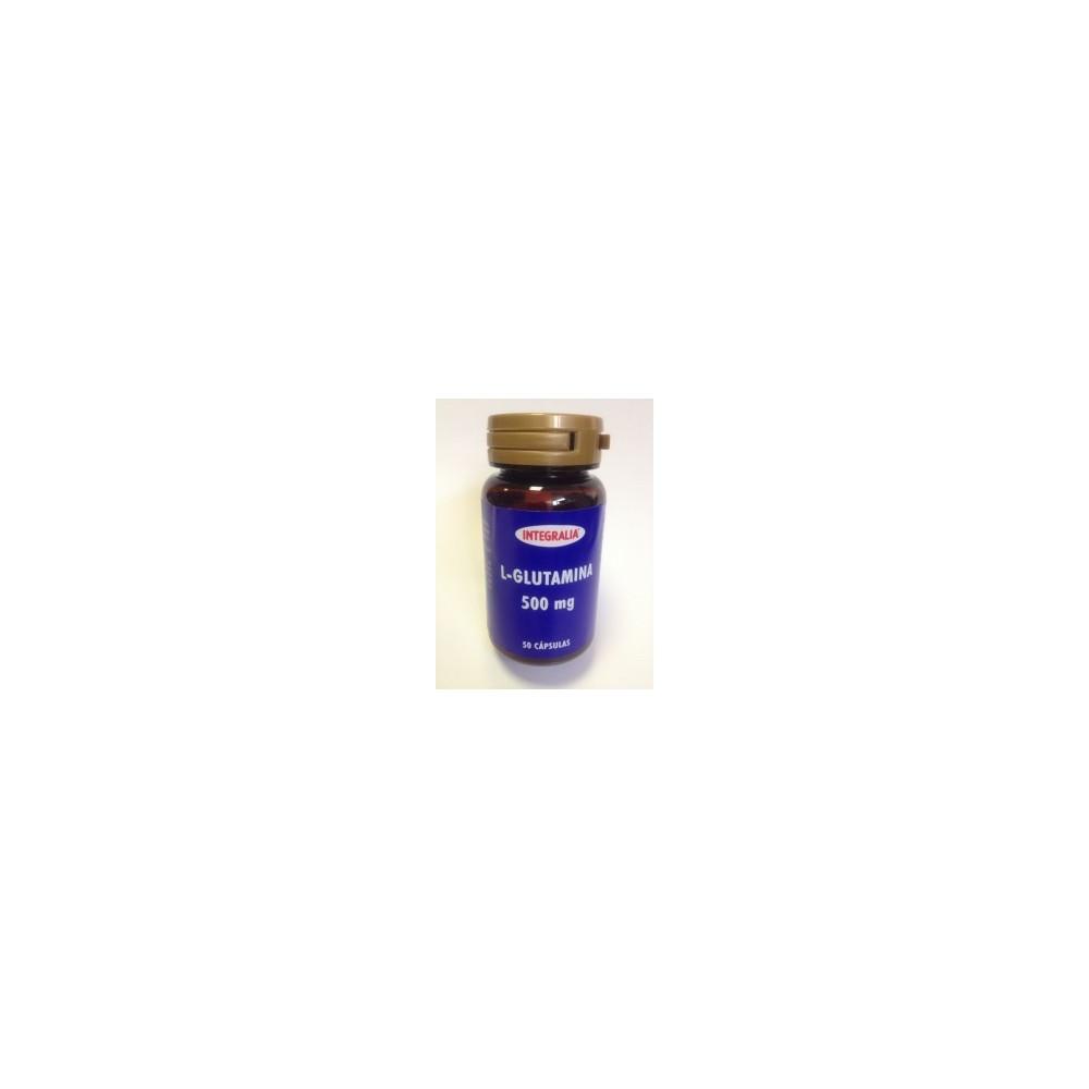 L-Glutamina 500mg 50 cápsulas de Integralia INTEGRALIA 359 Suplementos Deportivos (Complementos Alimenticios) salud.bio
