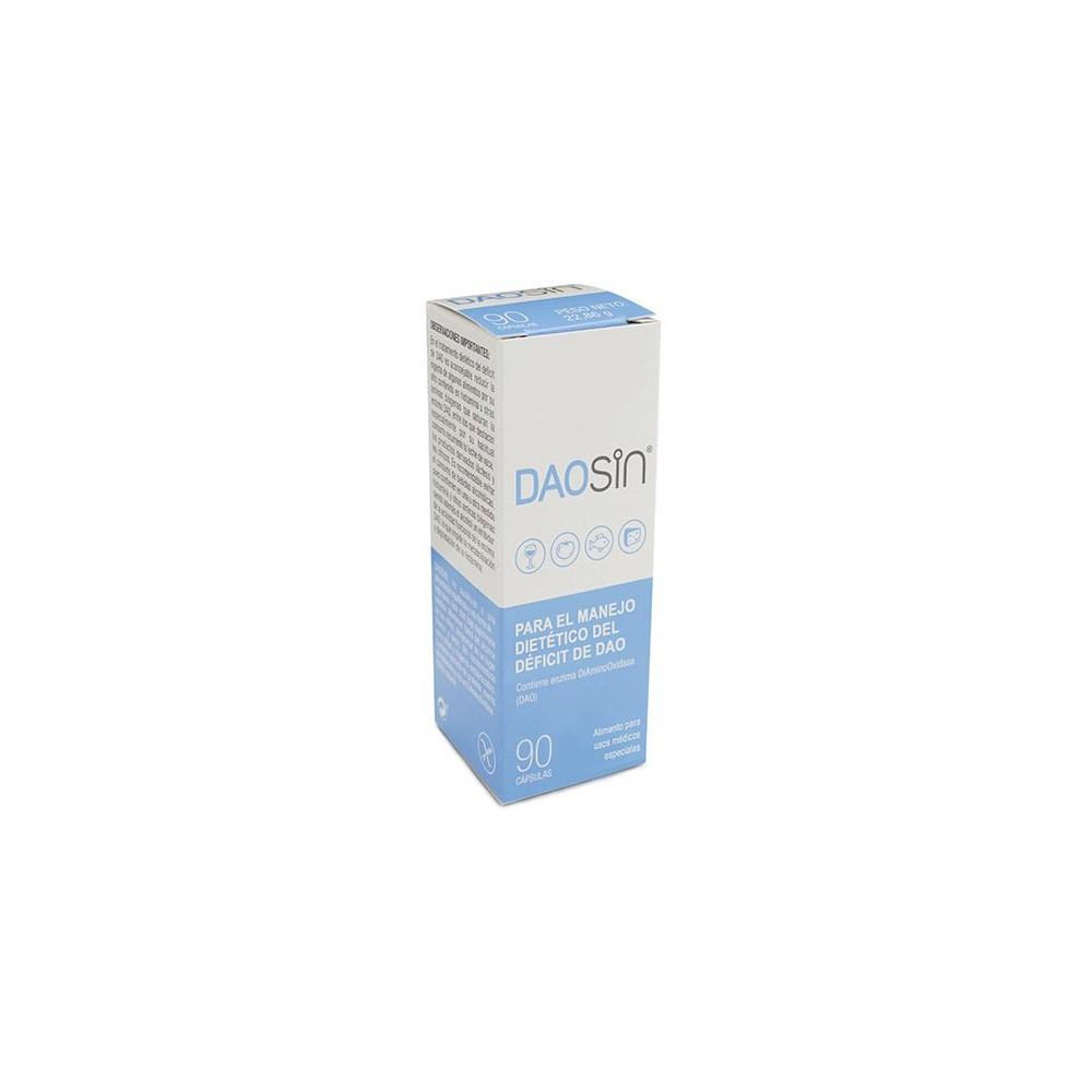 DAOSIN® 90 cápsulas Para el manejo dietético del Déficit de DAO (Intolerancia a la histamina) Salengi 8437013094580 Ayudas ap...