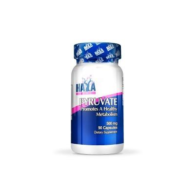 Piruvato 500 mg. (Pyruvate de ácido pirúvico) 90 Caps. de Haya Labs Haya Labs LLC 14786 Activadores Metabólicos salud.bio