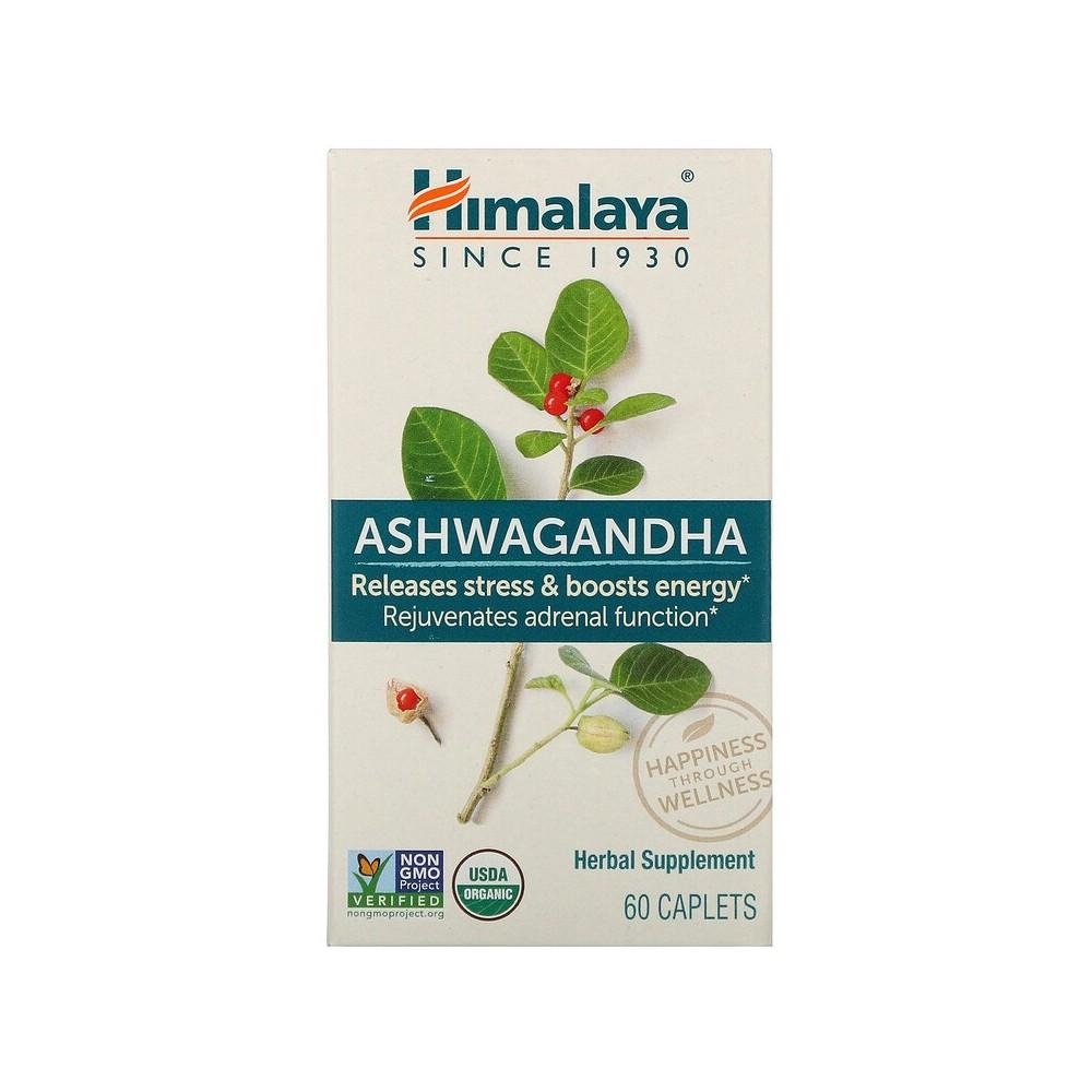 Ashwagandha (Withania somnifera) root extract , 60 Comprimidos de Himalaya Himalaya HIM-40101 Estados emocionales, ansiedad, ...