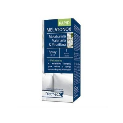 Melatonox Rapid Spray bucal 30ml (accion rapida) de DietMed Dietmed 10018040770 insomnio y descanso salud.bio