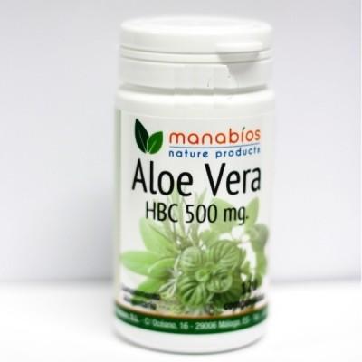 Aloe Vera en capsulas de 500 mg de Manabios Manabios  Laxantes salud.bio
