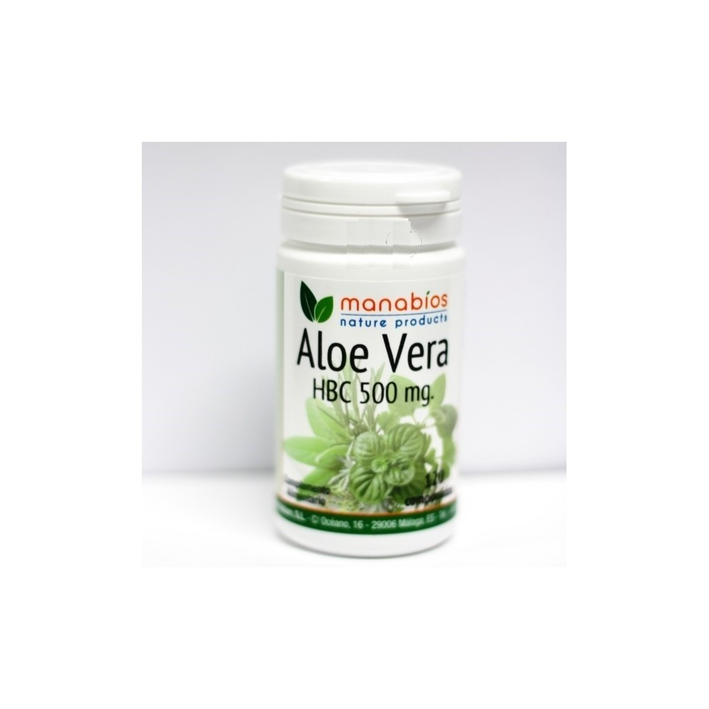 Aloe Vera  90 cápsulas 500 mg de Manabios