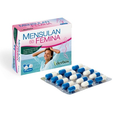 Mensulan fémina isoflavonas de derbós derbós laboratorio natural 064 Menopausia salud.bio