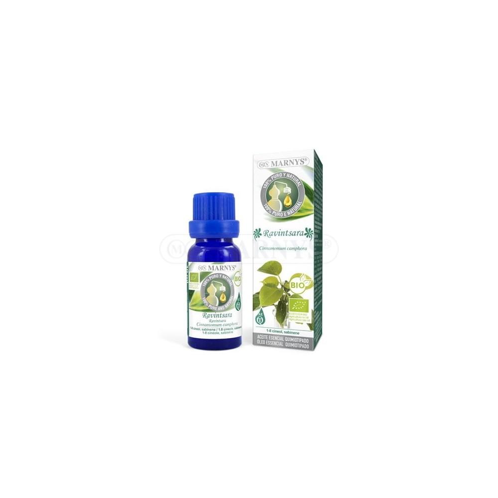 Aceite Esencial de Ravintsara BIO Quimiotipado de MARNYS Marnys AA044 Aceites esenciales uso interno salud.bio