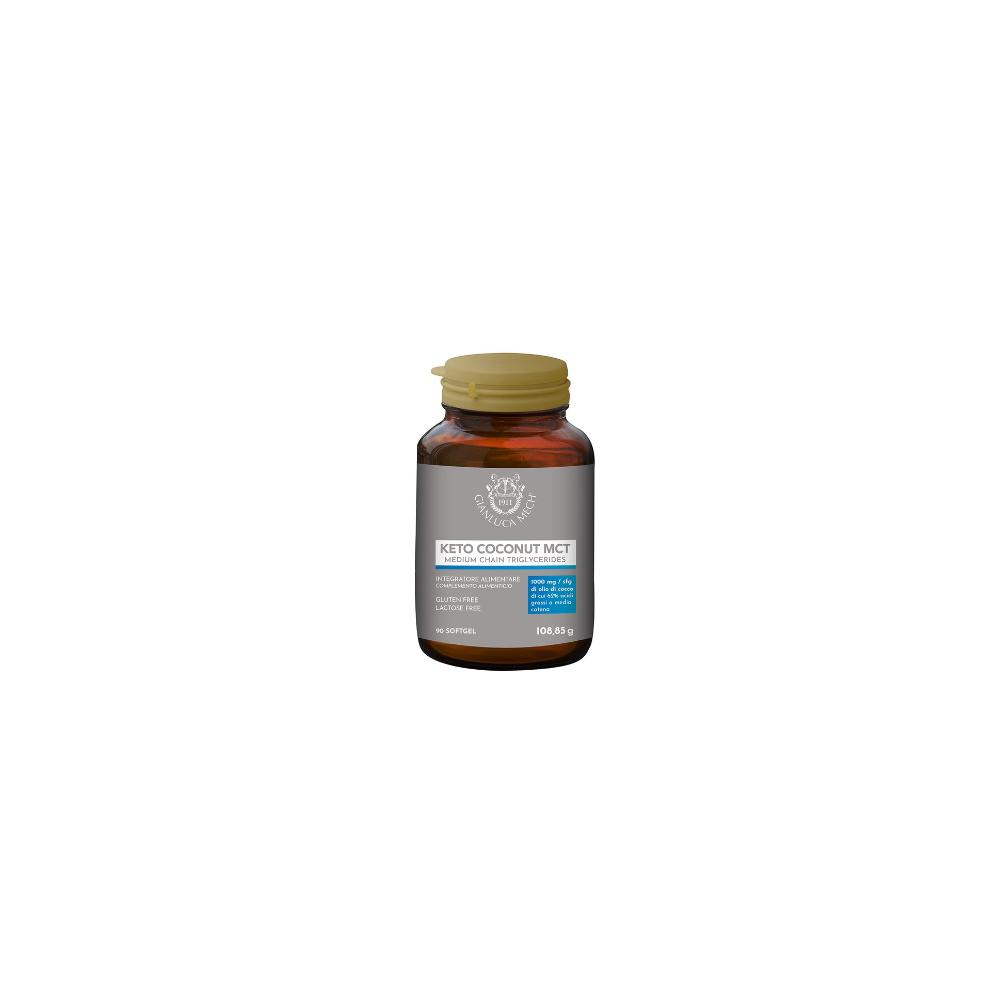 Keto Coconut MCT (Trigliceridos enlace medio) de Gianluca Mech GIANLUCA MECH GFI90C02000 Suplementos Deportivos (Complementos...