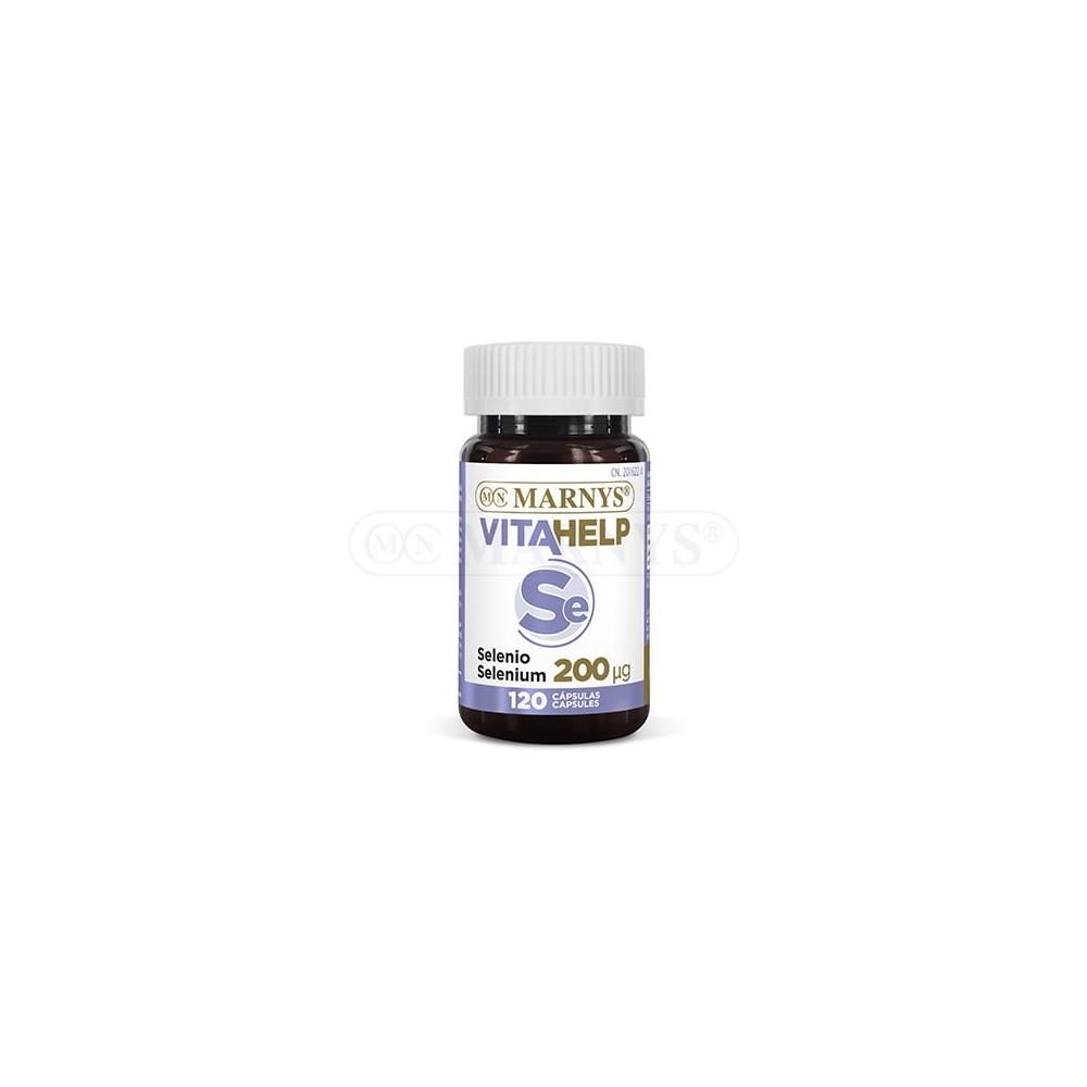 Selenio 200 μg Línea VITAHELP de Marnys Marnys MN807 Antioxidantes salud.bio