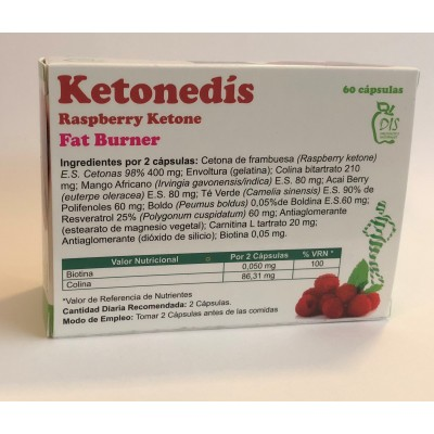 Ketonedís Cápsulas de Dis DIS Dietetic International System, s.l.u. 307 Inicio salud.bio